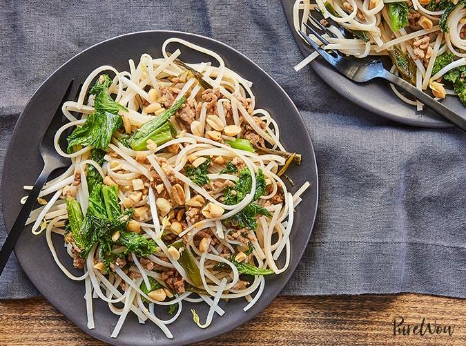 Cheater s Pad Thai 15 minute pasta recipe