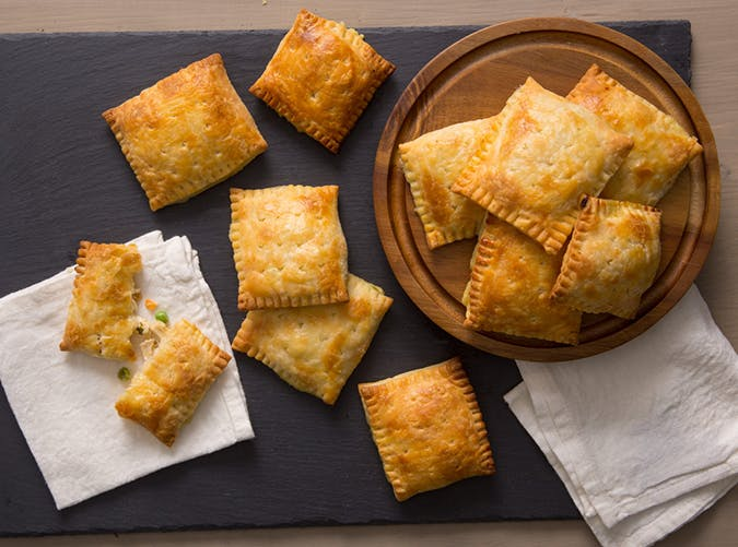 Chicken Pot Pie Hand Pies holiday recipe