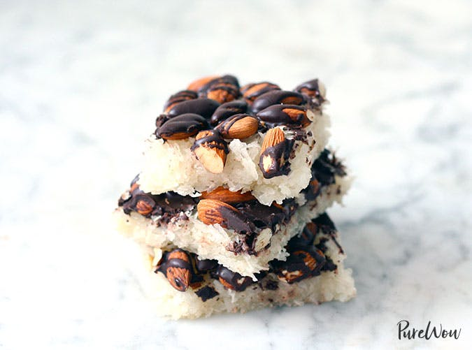 Coconut Almond Christmas Candy Bars