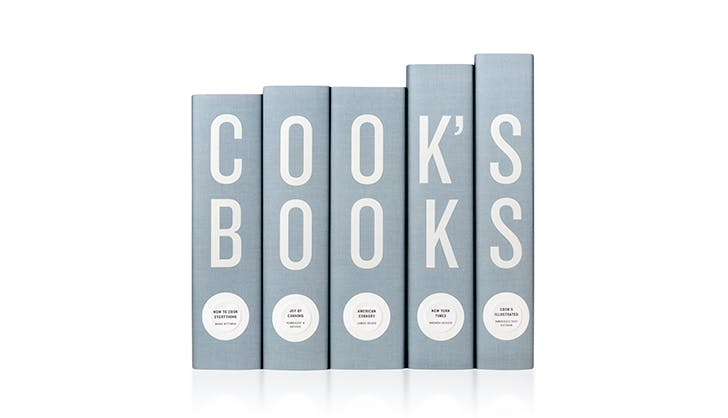 Cooks Books Cookbook set