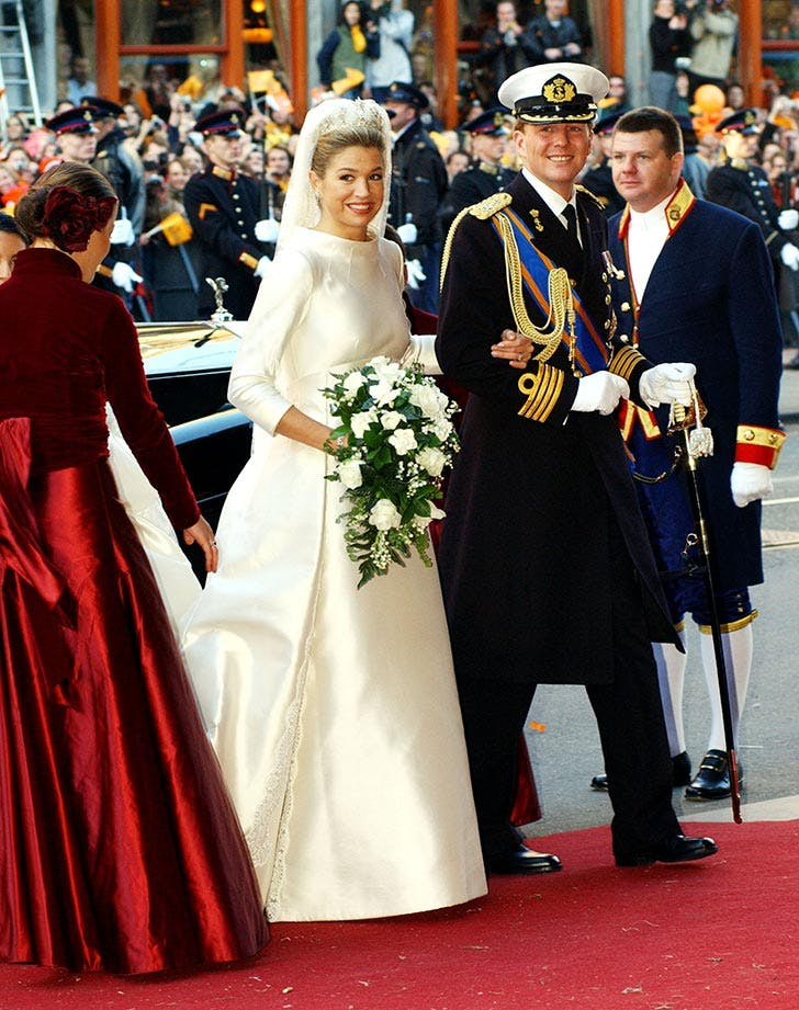 Dutch Crown Prince Willem Alexander and his new bride Crown Princess Maxima Zorreguieta