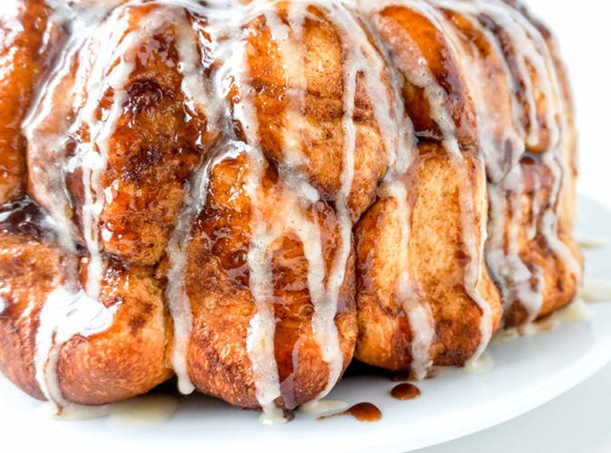 Eggnog Monkey Bread christmas dessert recipe