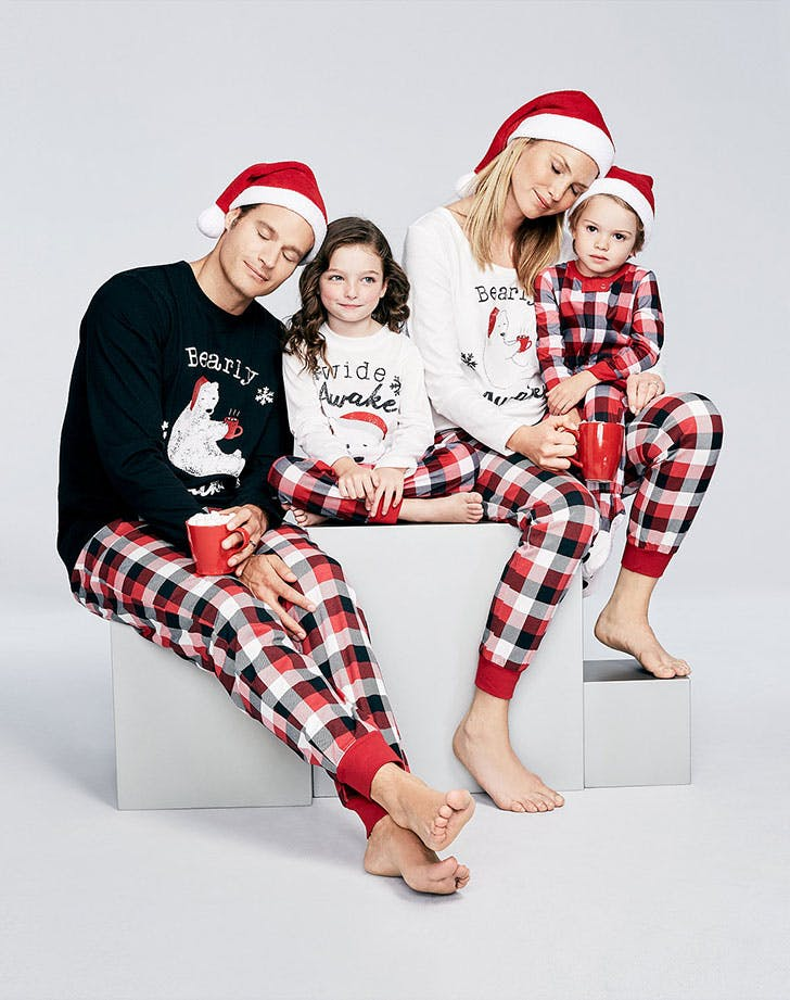 Family Pajamas Buffalo Plaid Bearly Awake Set for Macys