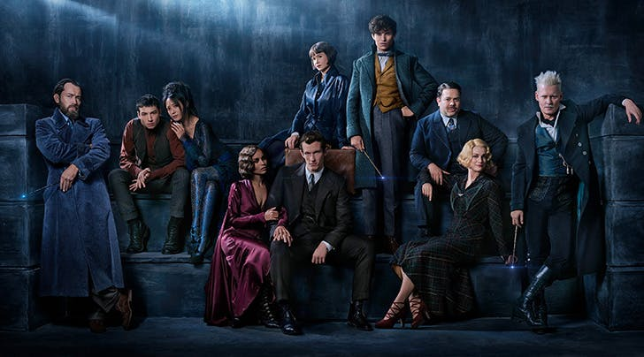 See Jude Law as Dumbledore & Johnny Depp as His Archnemesis in New 'Fantastic Beasts' Photo