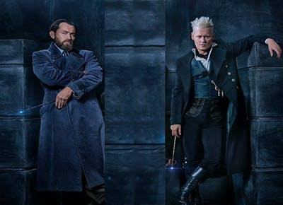 Fantastic Beasts Harry Potter duel Dumbledore Grindelwald.c