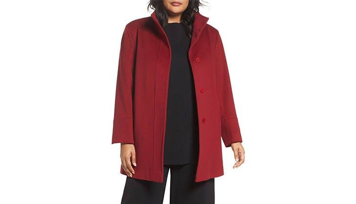 Fleurette Tailored Wool Coat