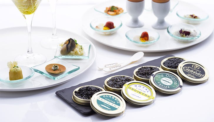 FoodyDirect Caviar tasting