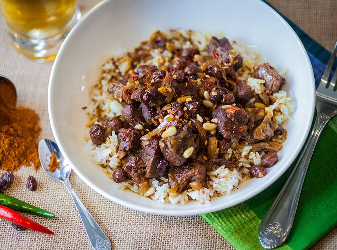 Gluten Free Crock Pot Lamb Tagine