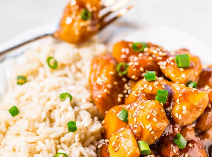 Gluten Free Slow Cooker Orange Chicken