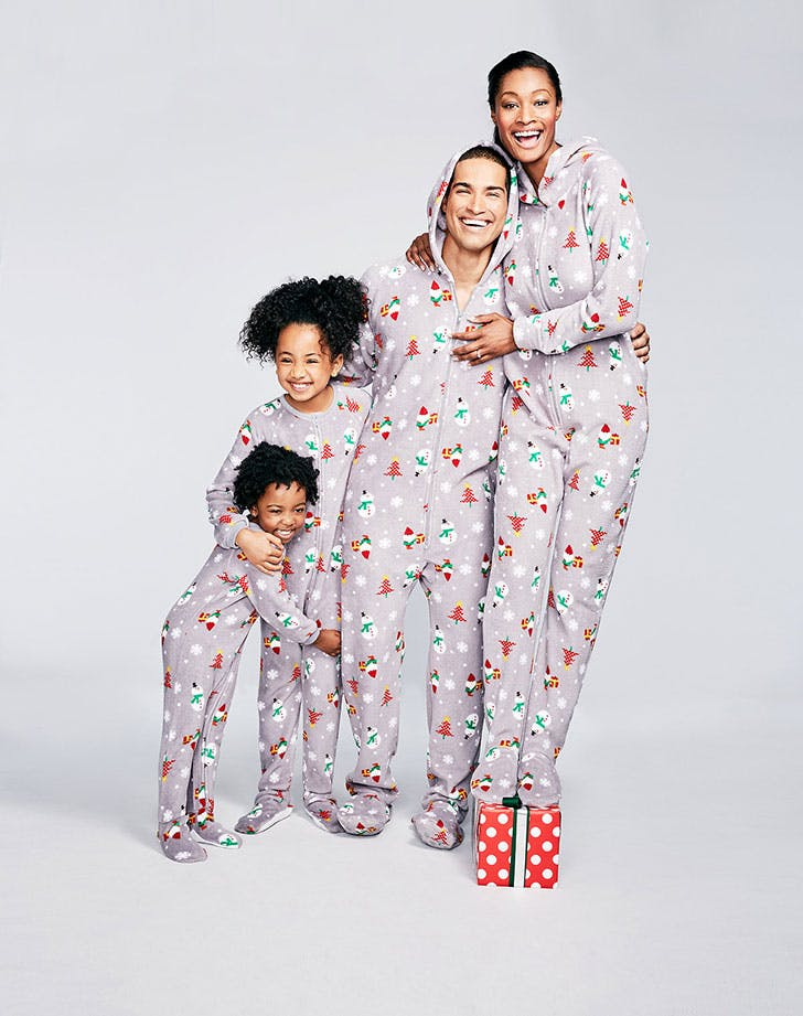Gnomes Footed Family Pajama Set