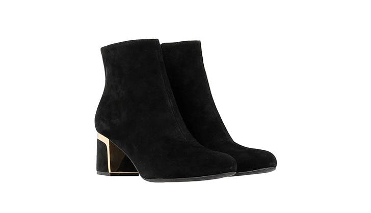Gold Plated Booties The Line