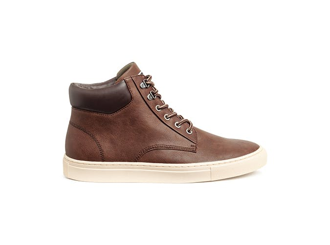 H M Leather High Top