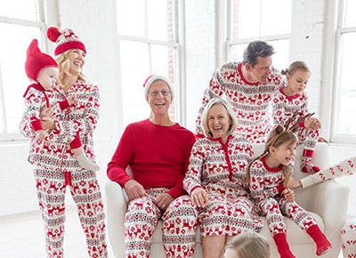 Hanna Andersson matching family pajamas 400