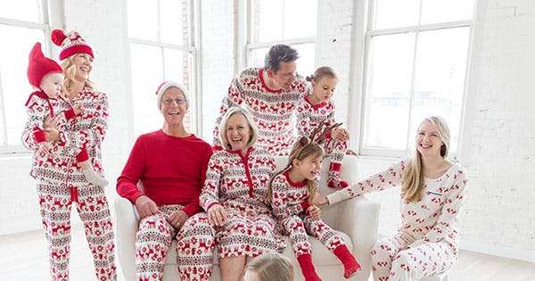 12 Ridiculously Cute Matching Pajamas You Didn't Know Your Family Needed This Holiday Season