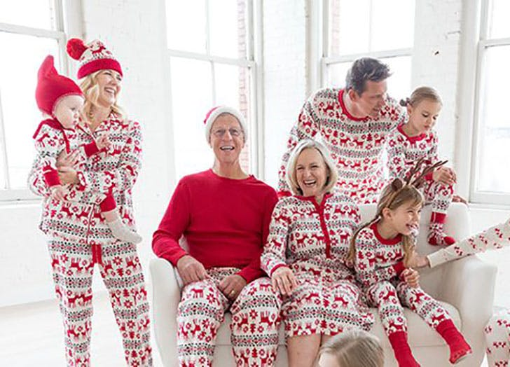 Family Christmas Pajamas With Dog.14 Matching Pajamas Your Family Needs This Christmas Purewow