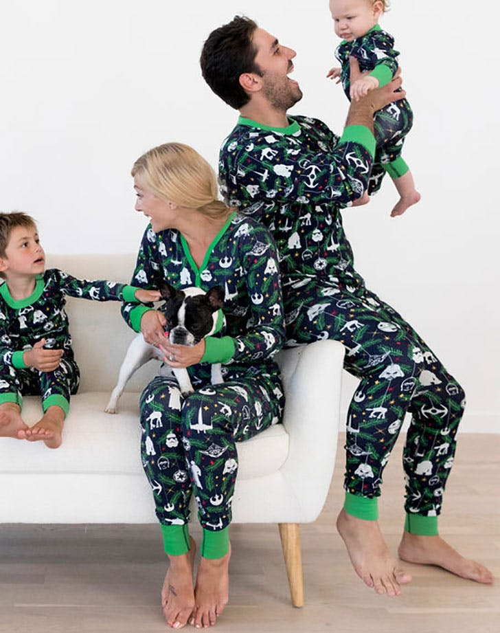 Hanna Andersson matching family star wars christmas pajamas
