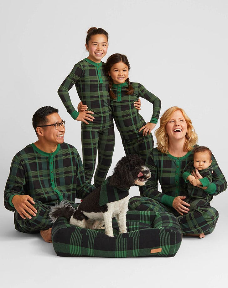 Hearth and Hand Family Pajamas for the holdiays