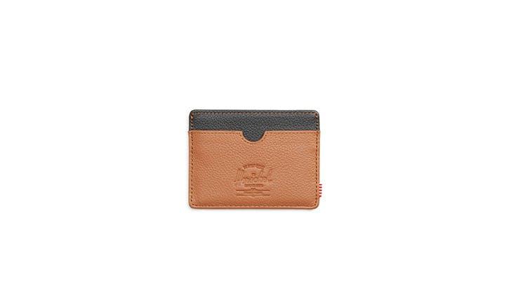 Herschel leather card holder