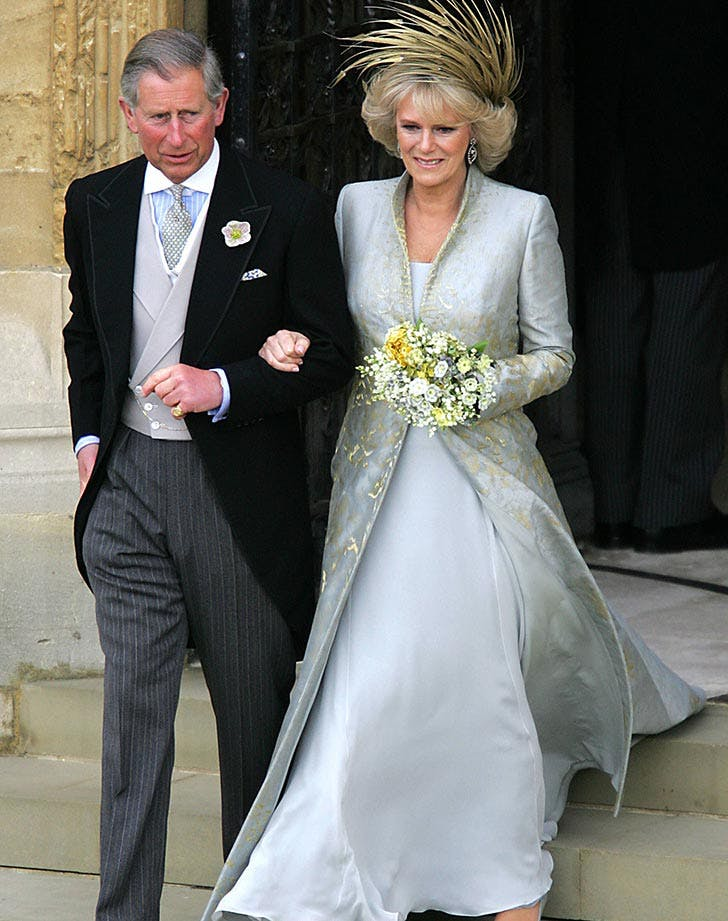 His Royal Highness Prince Charles and Camilla Parker Bowles attend the service of prayer