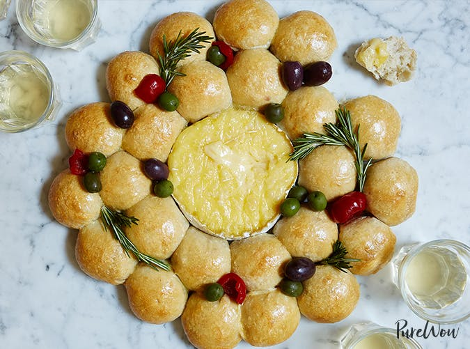 Holiday Baked Brie christmas bread recipe