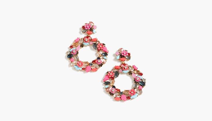 J.Crew Jeweled Earrings