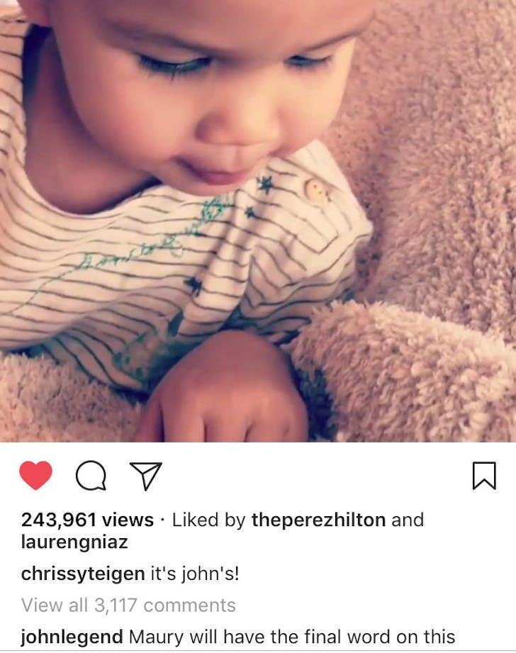John Legend Chrissy Teigen Baby 2