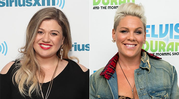 Musical Goddesses Kelly Clarkson & Pink Join Forces for 2017 American Music Awards