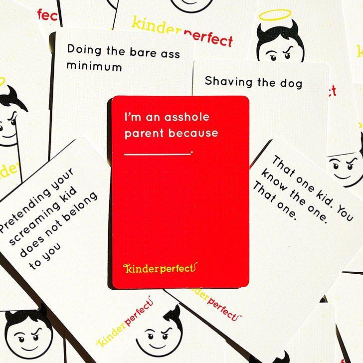 Kinder Perfect sample cards 2