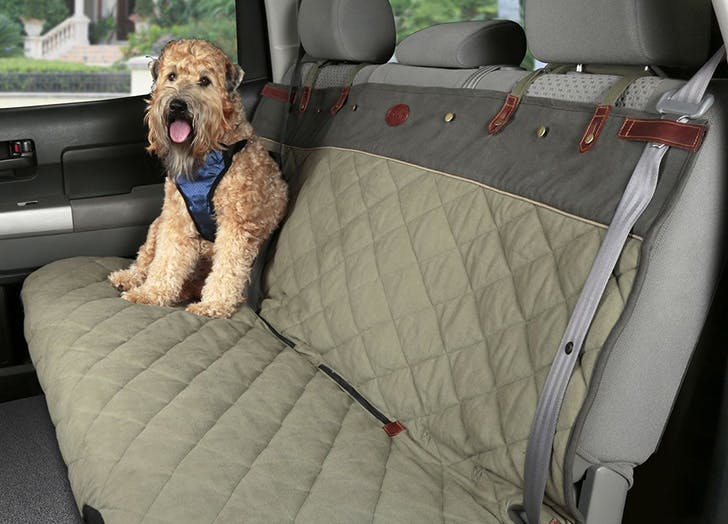 LA gift guide dog car seat cover