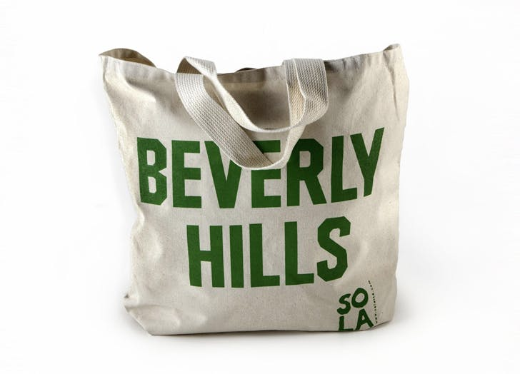 LA gift guide tote bag