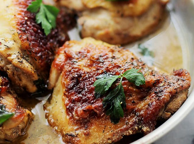 Lemon Paprika Chicken holiday recipe