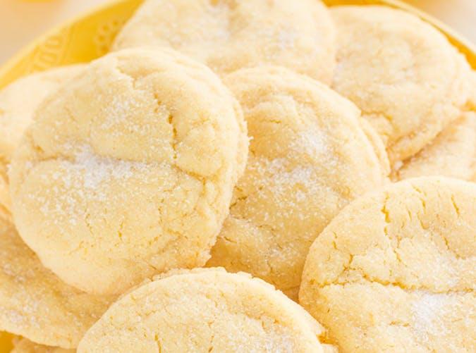 Lemon Sugar Cookies recipe