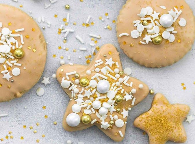 Maple Glazed Sugar Cookies recipe