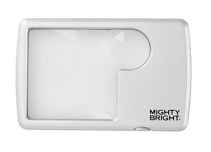 Mighty Bright Lighted Wallet Magnifier gift for grandparents