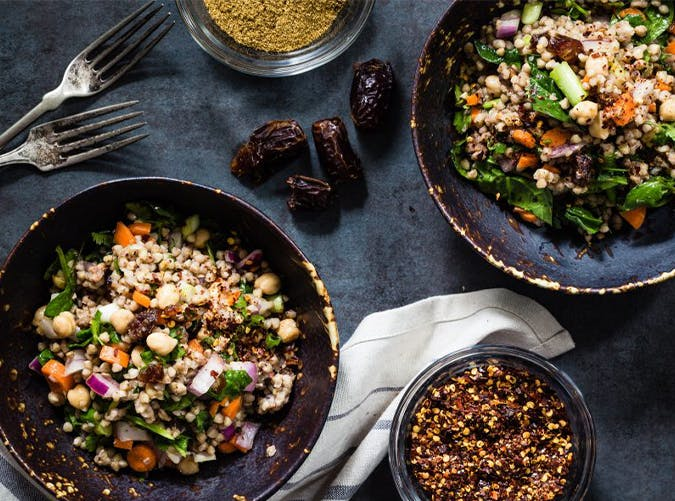 Moroccan Buckwheat Salad big batch recipes