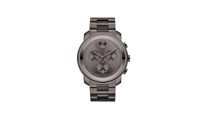 Movado Gunmetal Bracelet Watch