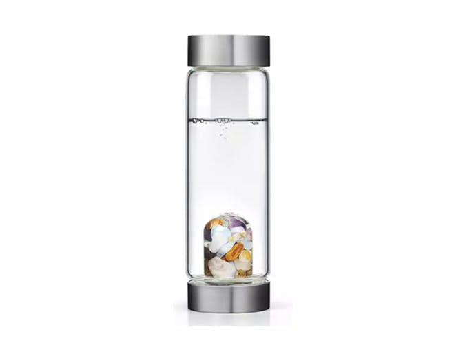 Neiman Marcus Crystal Water Bottle