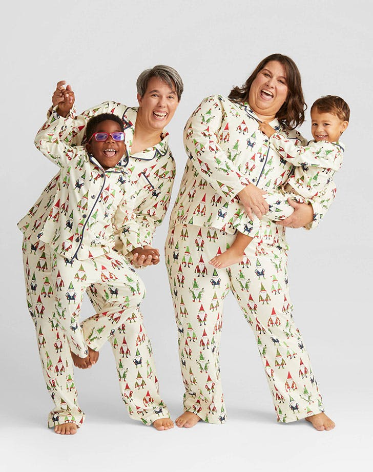 Nite Nite Munki Holiday Gnomes Family Pajamas