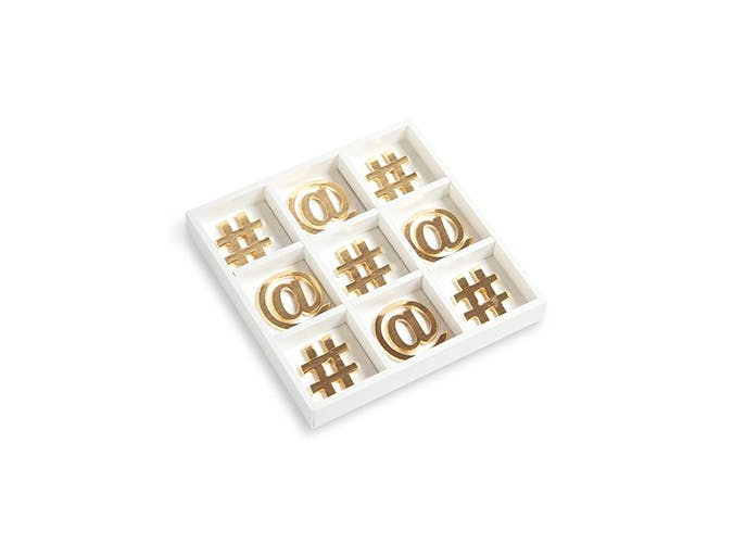 Nordstrom Gold Tic Tac Toe Set