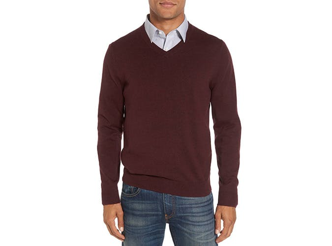 Nordstrom v Neck Cashmere Sweater
