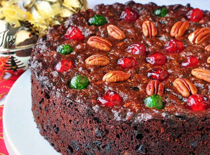 Old English Fruitcake Recipe