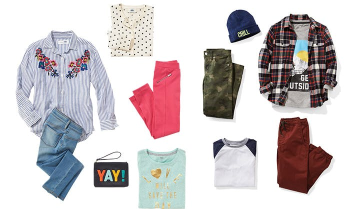 Growth Spurts? No Problem. Old Navy's New Kids' Subscription Box Solves Our Shopping Woes