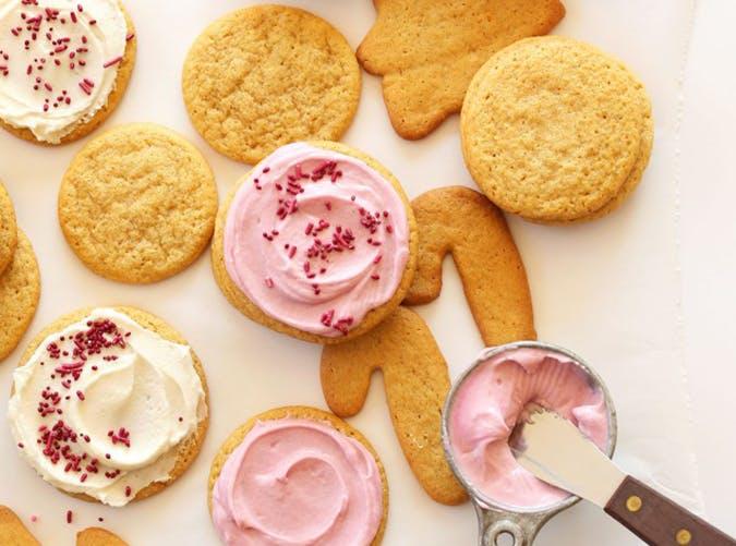 One Bowl Vegan Sugar Cookies recipe