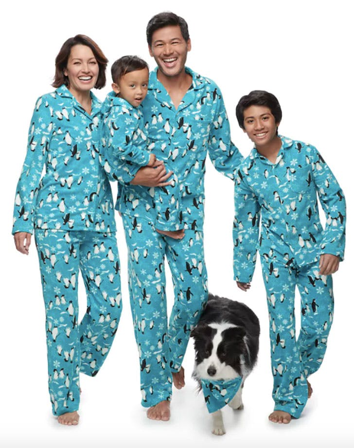 Penguin Matching Family Pajamas
