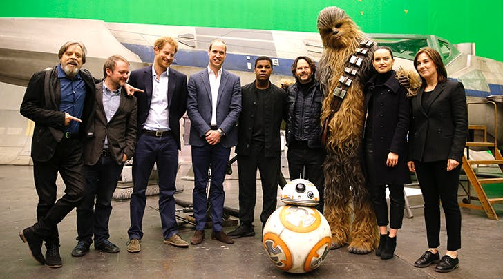 Um, Prince Harry & Prince William Have Cameos in 'Star Wars: The Last Jedi'
