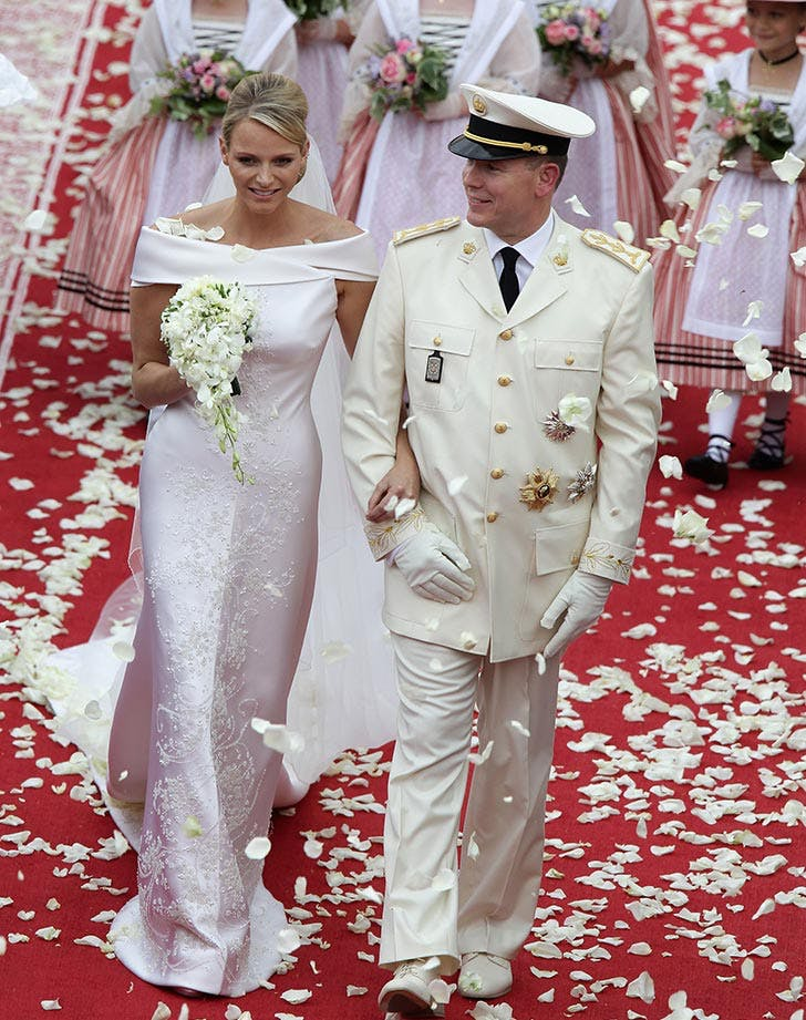 Princess Charlene of Monaco and Prince Albert II of Monaco Royal Wedding