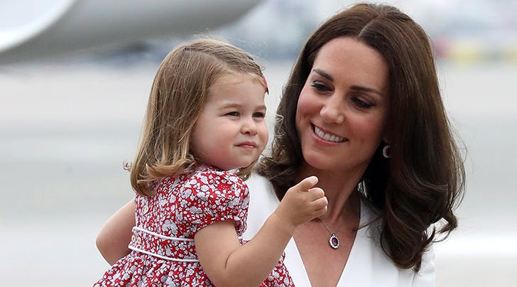Kate Middleton Says *This* Is Princess Charlotte's Favorite Color