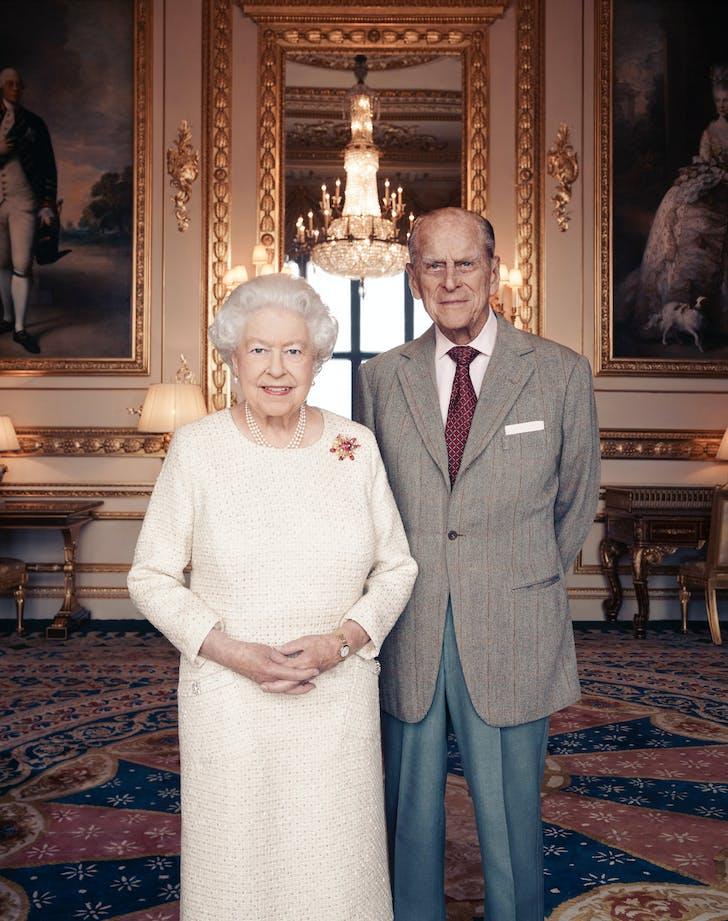 Queen Elizabeth Prince Philip 70 platinum wedding anniversary