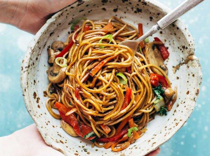 Quick Lo Mein 15 minute pasta recipe
