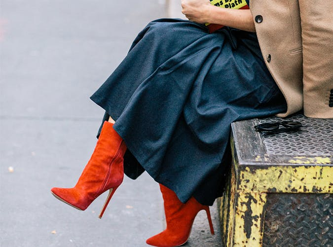 Red Booties Style Upgrade on a Budget